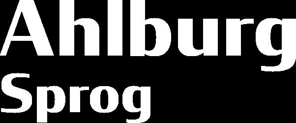 Ahlburg Sprog